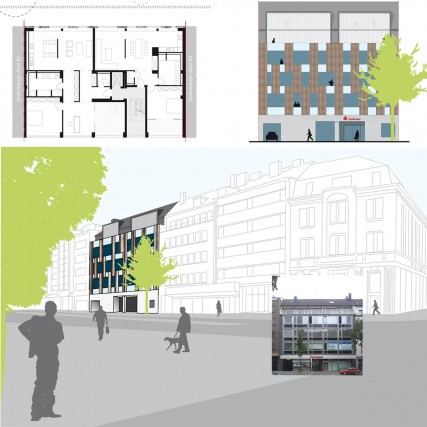 Projektentwicklung eines Wohn- und Geschäftshauses